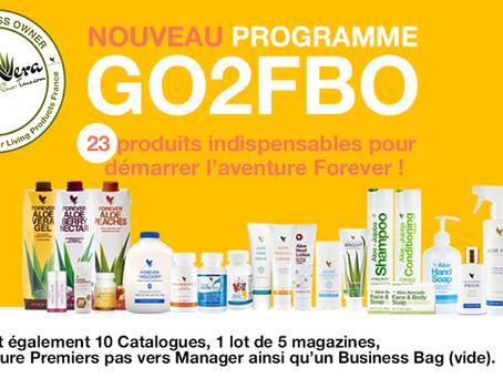 "Nouveau programme ""Go 2 FBO"" FLP France (Avril 2019)"