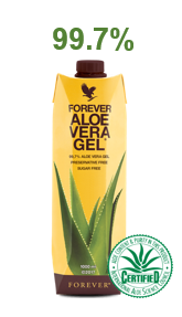pulpe d'aloe vera forever , champs