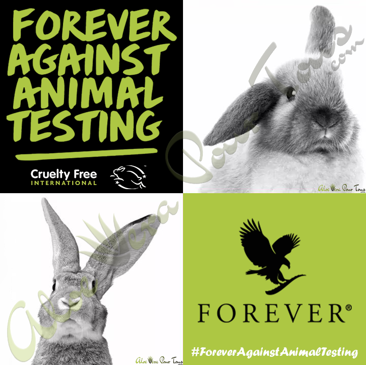 Forever Living Products programme Leaping Bunny et CrueltyFree