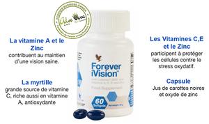 Forever iVision™ | Les composants | Vitamines A, E, C, Zinc