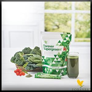 Forever Supergreen |  Układ odpornościowy |  Witaminy |  Magnez |  Przeciwutleniacze