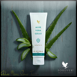 Aloe Vera Gelly, Gelée Aloès pour jambes lourdes et circulation sanguine