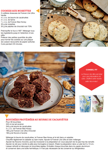 Forever lite ultra recette cookies