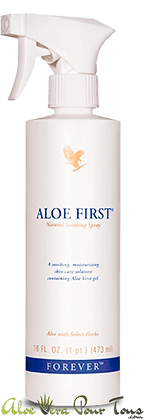 Forever Aloe First | Spray Aloe Vera | Brume | Forever Living