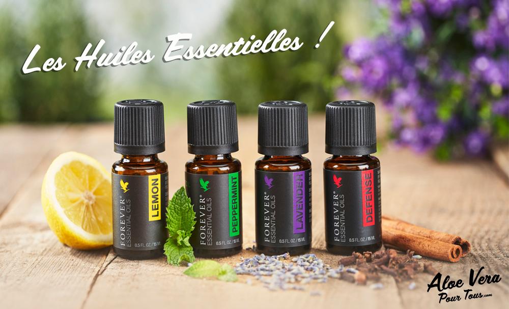 Les huiles Essentielles de Forever Living Products