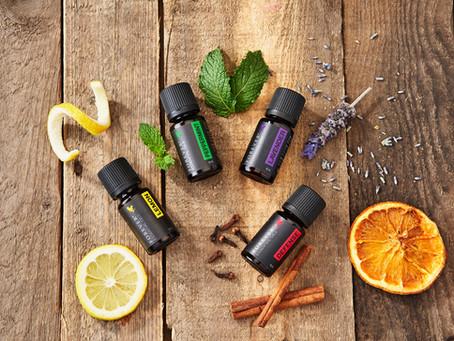 Aromathérapie | Huiles Essentielles Forever, Menthe Poivrée, Citron, Lavande, Défense