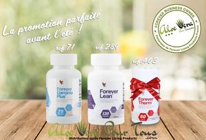 Offre de printemps Forever: Garcinia + Lean = Forever Therm Offert