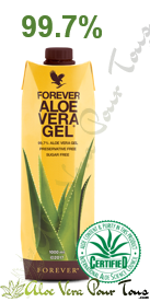 Pulpe d'aloe vera Forever 715