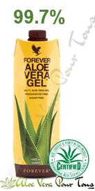 FOREVER ALOE VERA GEL |Pulpe d'aloe vera | Eczéma, psoriasis, Mycoses