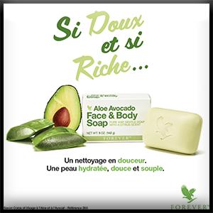 Savon Aloe Avocat | Soins et hygiène bébé | Forever Living Products
