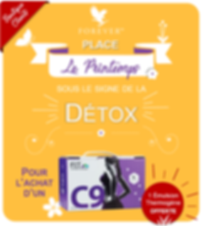 Offre de printemps Forever Living, pack C9
