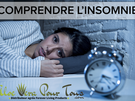 Insomnie | Les produits Forever pour un sommeil réparateur