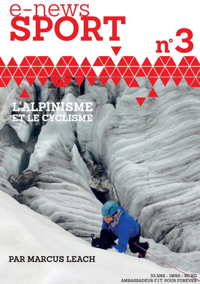 e-news sport l'alpinisme, marcus leach