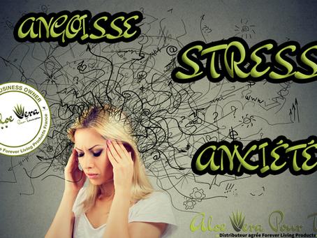Stress, Angoisse, Anxiété | Les produits Forever pour votre bien-être