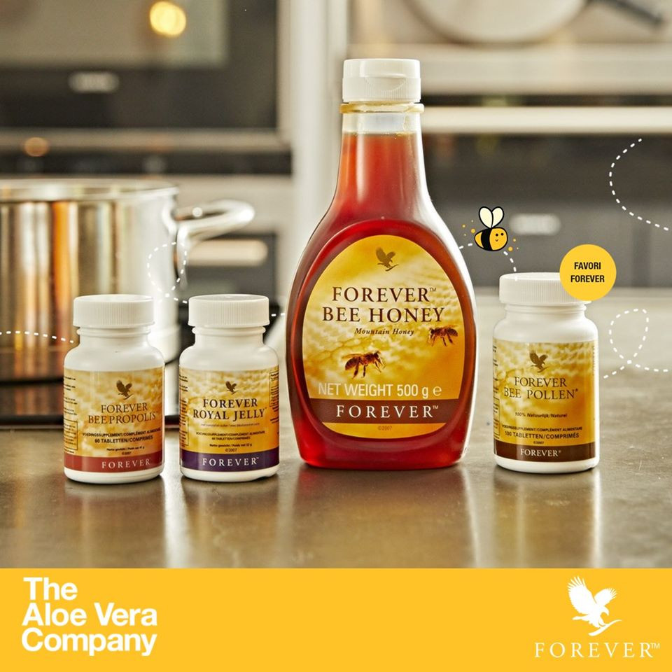 Produits de la ruche Forever | Miel | Propolis | Pollen | Gelée Royale |
