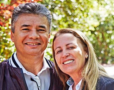 Lino et Noema Barbosa, manager diamant Brésil
