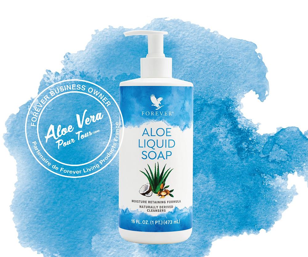 Soins des cheveux | Aloe Liquid Soap | Savon liquide aloe vera