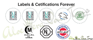 Labels et Cetifications Forever Living Products