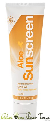 Aloe Sunscreen | Crème Solaire Forever | Indice 30 SPF