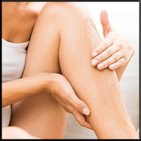 Masser les jambes, circulation et jambes lourdes
