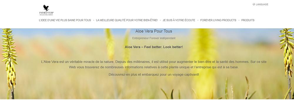 Site Aloe Vera Pour Tous Suisse