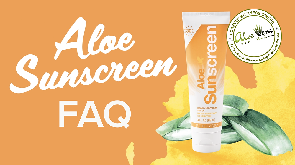 FAQ | Questions Forever Aloe Sunscreen