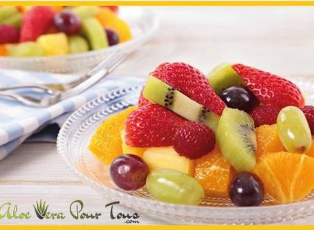 Idée recette #2 Salade de fruits et Aloe Vera Forever !