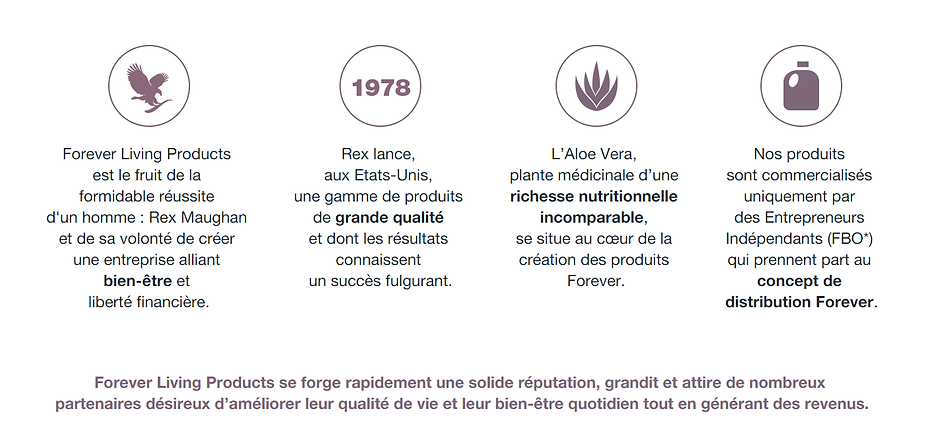 Pourquoi choisir Forever Living Products