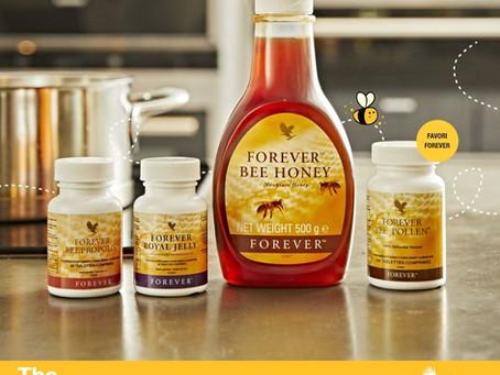 Les produits de la ruche Forever | Miel, Gelée Royale, Propolis, Pollen