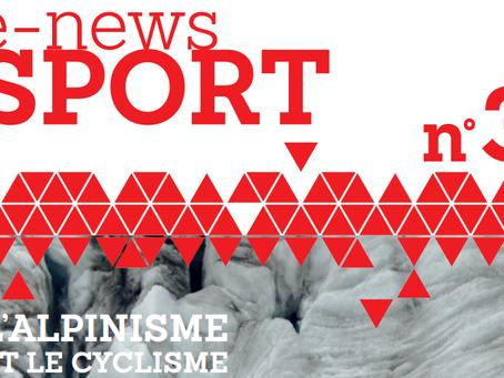 #3 News Sport Forever: Alpinisme et cyclisme !