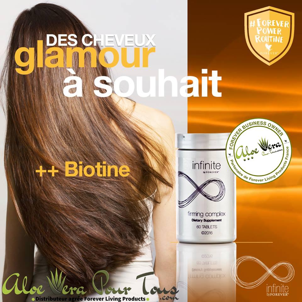 Soins des cheveux | Complexe Raffermissant Infinite | Biotine