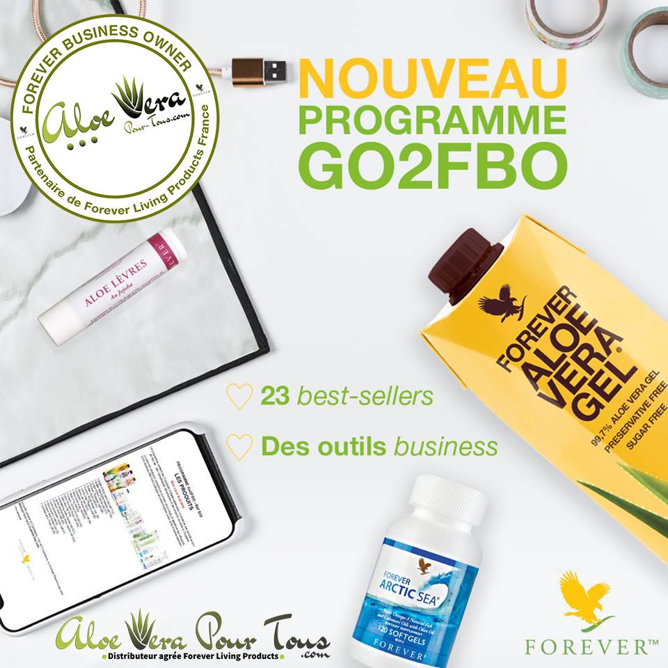 Nouveau Programme GO 2 FBO Forever 2019