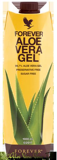 Forever Aloe Vera Gel, pulpe d'aloe vera stabilisée