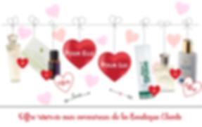 Offes saint Valentin Forever Living 2018