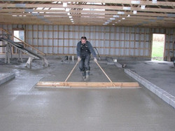 Floor Pouring