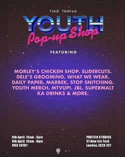 'Youth' Album Pop Up Tinie Tempah