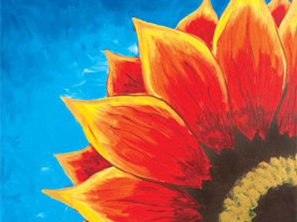 Red Sunflower