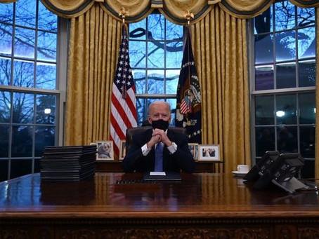 Inside Joe Biden's Oval Office Makeover: Add Moon Rock, Ditch Diet Coke Button.