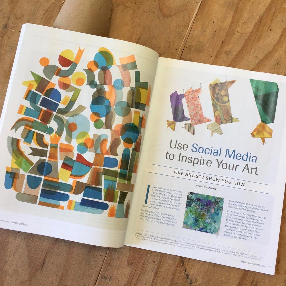 Professional Artist Magazine