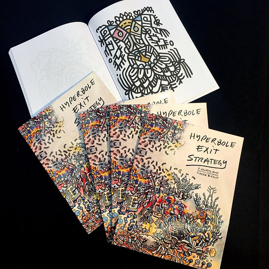 Hyperbole Exit Strategy - Coloring Book