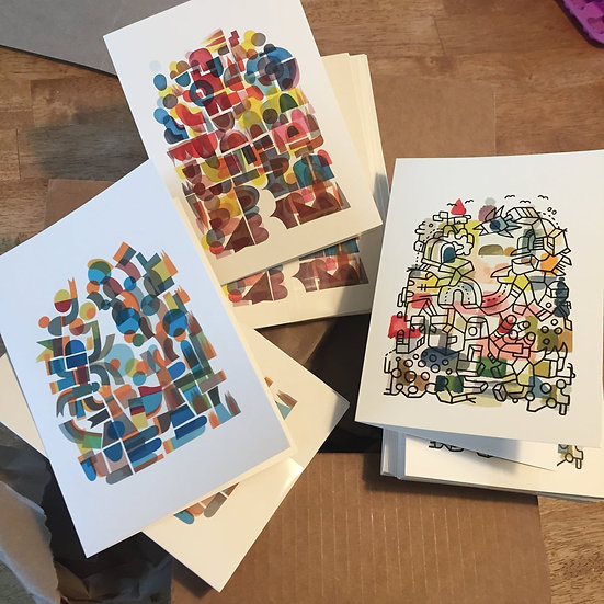 Three Gorgeous Greeting Cards