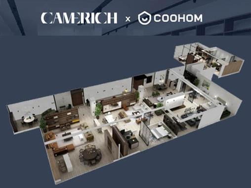 CAMERICH X COOHOM Virtual Showroom