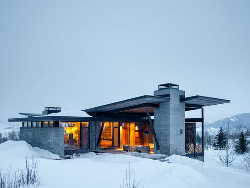 A Fairytale House in Rocky Mountains