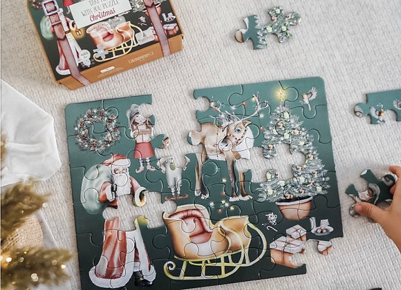 """Christmas """"Take me with you """" Puzzle"""