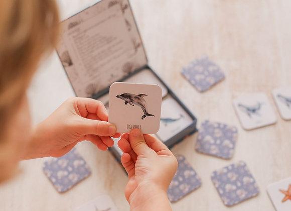 Ocean Memory Card Game