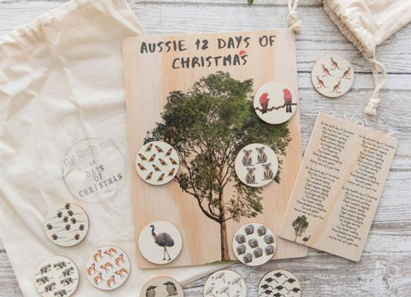 12 Days of Christmas Activity Board