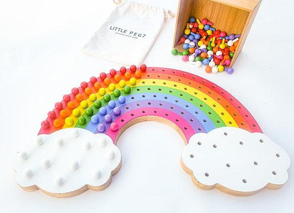Little Pegz Rainbow Board