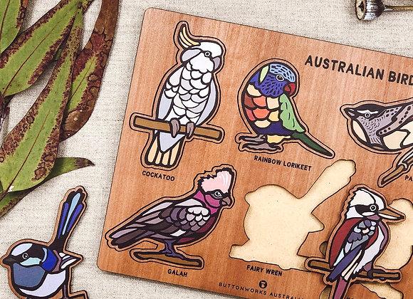 Australian Native Birds Puzzle