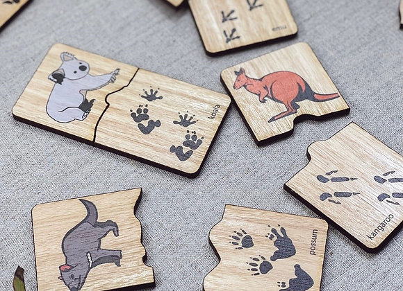 Australian Animal Tracks Game