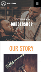 नया website templates – Barbershop